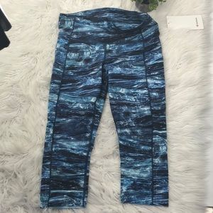 Lululemon Fast and Free Crop HLNM